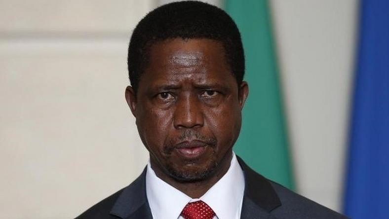 Zambia's Lungu defends tax agency's decision to shut down newspaper