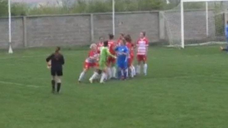 Tuča fudbalerki