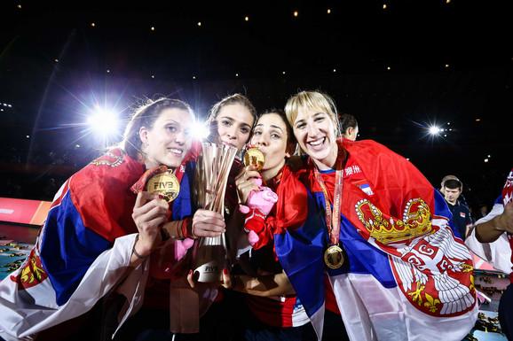 Srbija je i pre osam godina osvojila zlato na Evropskim prvenstvima i za žene i za muškarce