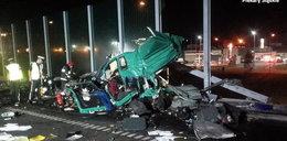 Śmierć na autostradzie. Zdjęcia