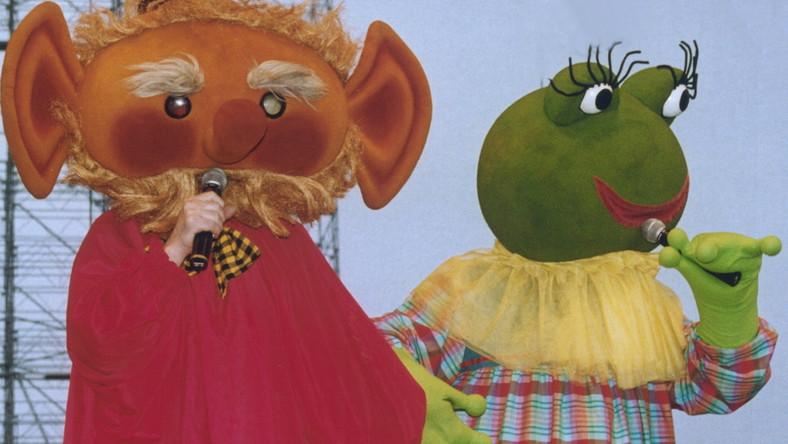 W Muzeum zobaczyć można także bohaterów programów dla dzieci: Kulfona i żabę Monikę