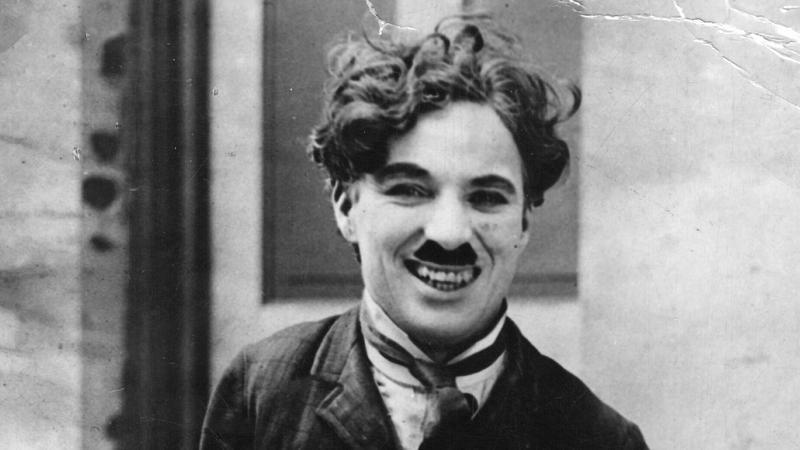 Charlie Chaplin w 1917 r.