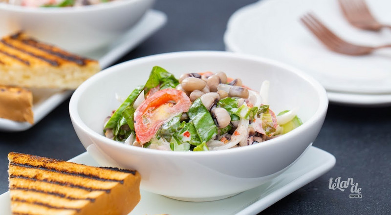 How to make a simple beans salad