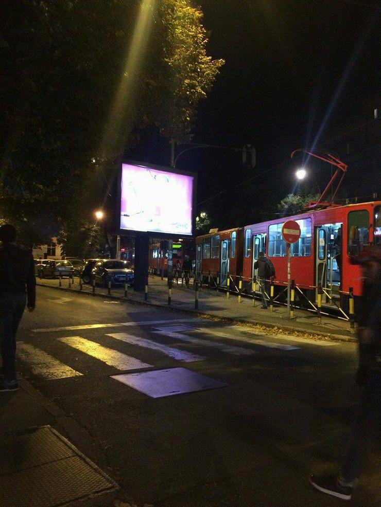 Zastoj tramvajskog saobraćaja zbog sudara
