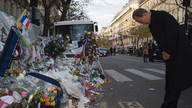 Ban Ki Mun oddał hołd ofiarom zamachów w Paryżu