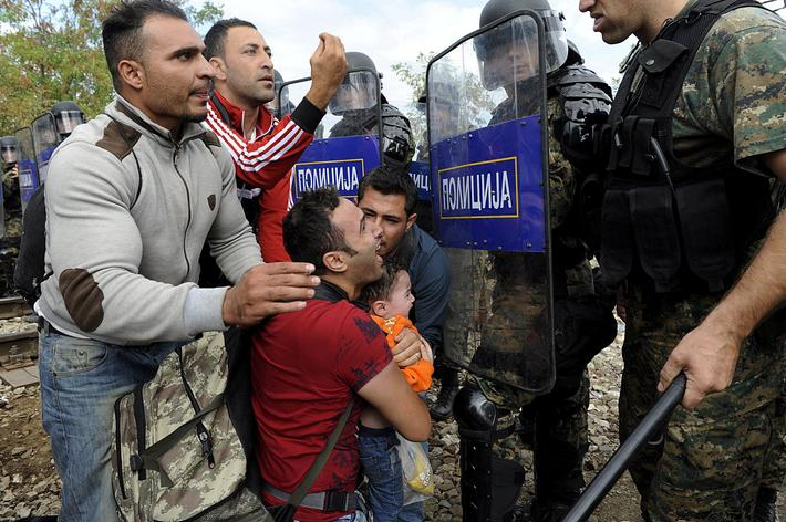 EUROPE-MIGRANTS/MACEDONIA