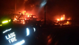 Ikeja tanker explosion: 3 bodies recovered, 13 injured and 25 vehicles burnt. [The Cable]