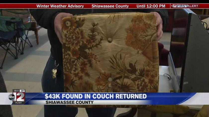 Kupił stare meble i znalazł skarb