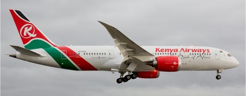 Kenya Airways [Routes Online]