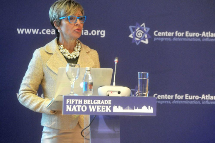 Jelena Milic NATO week foto Promo