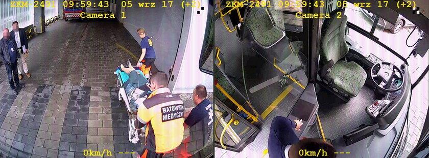 Bohaterski kierowca autobusu. Pan Maciej uratował pasażerkę