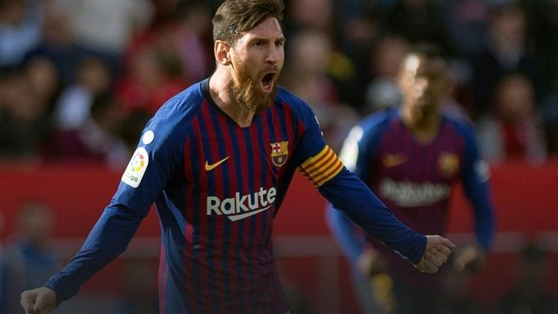 Lionel Messi never ceases to amaze -- he got his 50th career hat-trick as Barcelona beat Sevilla 4-2