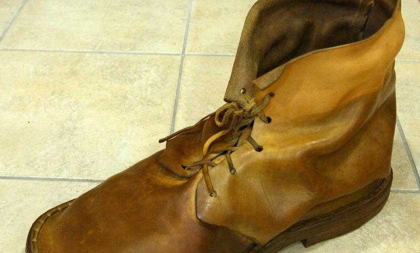Jednonogi złodziej ukradł... jednego buta