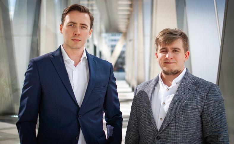 Michał Ratajczak i Bartosz Szuryga
