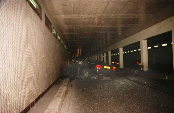 Tunel Pont de l' Alma nadgledan je kamerama, ali nijedna nije zabeležila trenutak udarca u stub