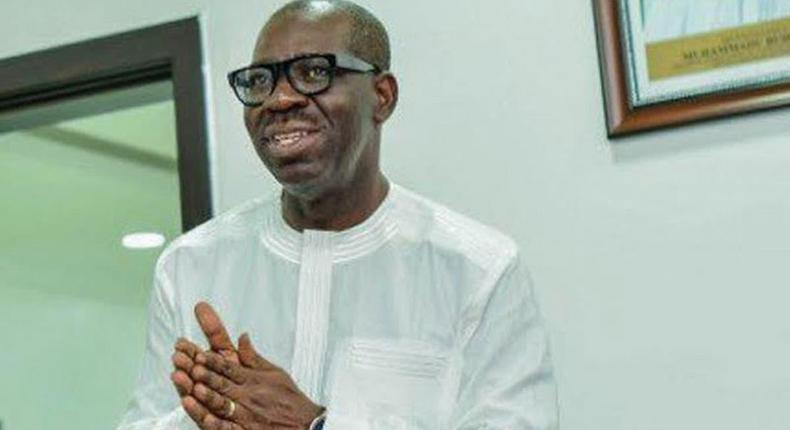 Edo state Governor, Godwin Obaseki. [Twitter/@GovernorObaseki]
