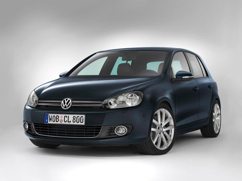 3. Volskwagen Golf (2008-)
