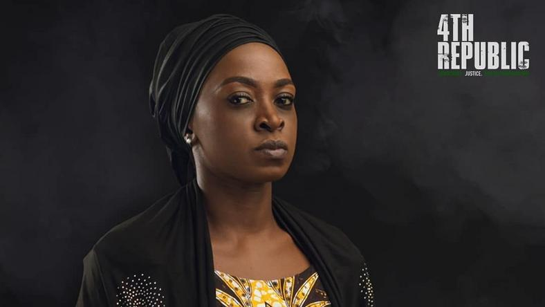 Kate Henshaw takes the lead role in the movie, '4th Republic'