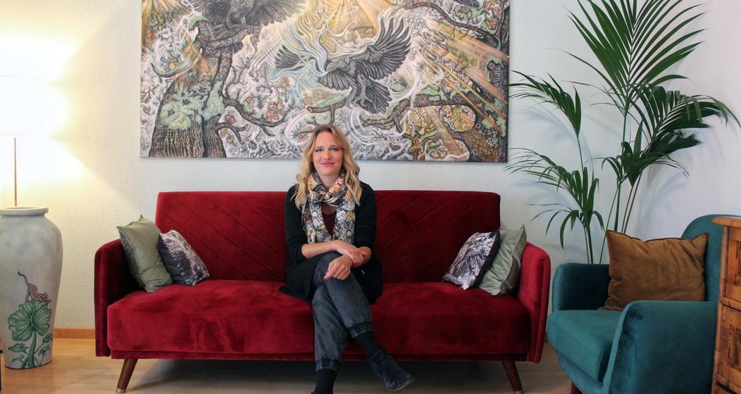 Künstlerin Ginny Litscher