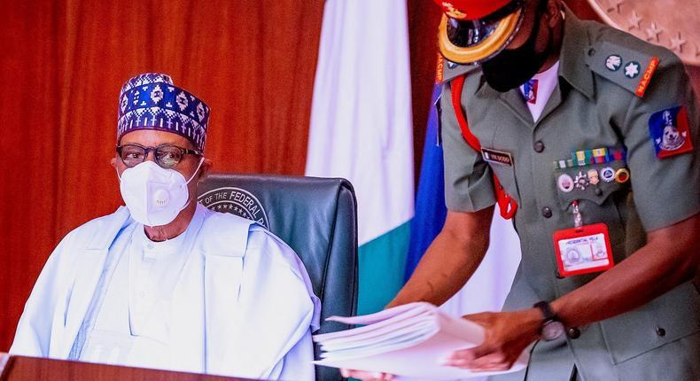 President Muhammadu Buhari. [Presidency]