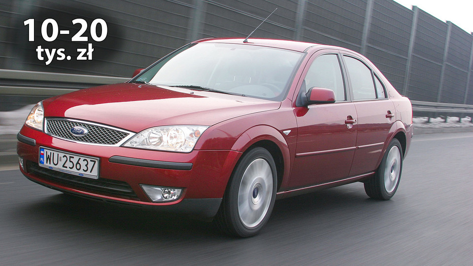 Ford Mondeo II (2000-07)