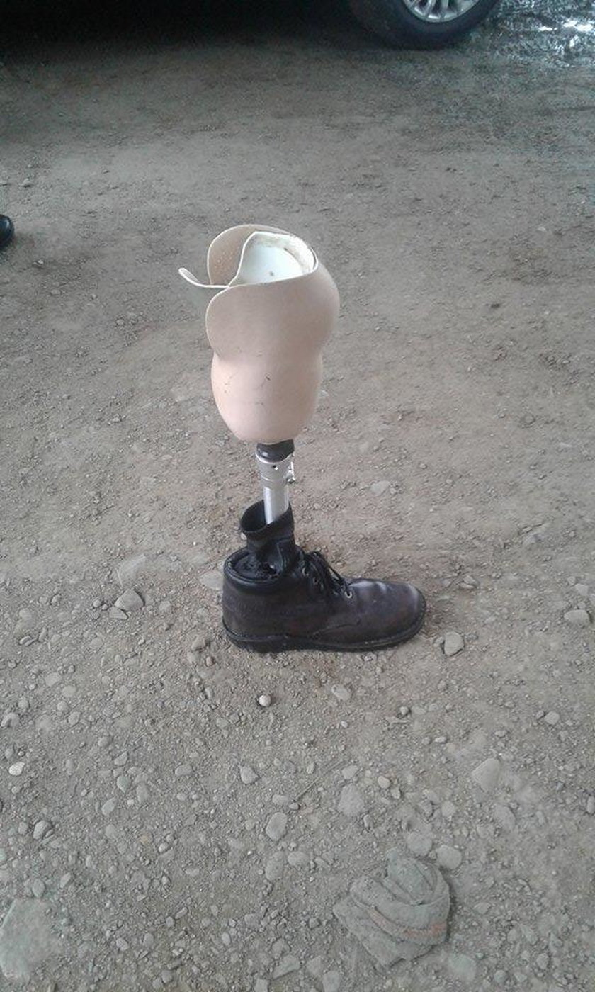 Płetwonurkowie wyłowili protezę nogi