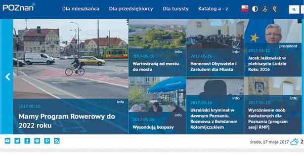 Miejsce na podium z nagrodą w postaci miesięcznej kampanii odsłonowej zajmuje Poznań.