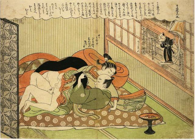 Drvorez iz Japana iz 18. veka