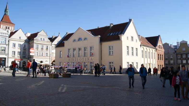 Rynek Starego Miasta w Olsztynie