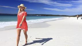 Hyams Beach w Australii - plaża z najbielszym piaskiem na świecie