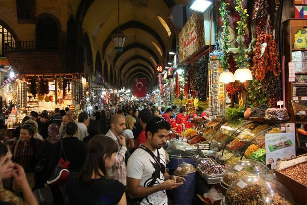 Stambuł - targ korzenny (Spice Bazaar)