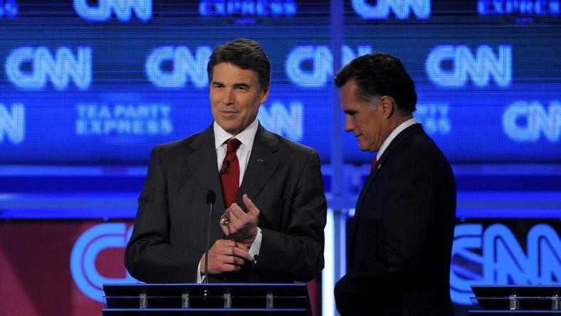 Rick Perry i Mitt Romney