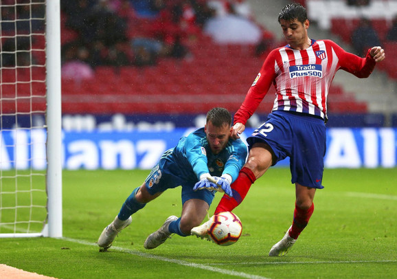 Alvaro Morata je započeo goleadu u Madridu