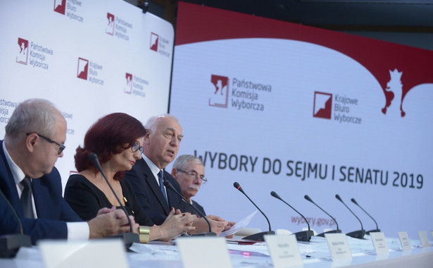 Frekwencja w niedzielnych wyborach do Sejmu i Senatu na godz. 17 wyniosła 45,94 proc. - poinformowała Państwowa Komisja Wyborcza. Lokale wyborcze są otwarte od godz. 7 do 21.