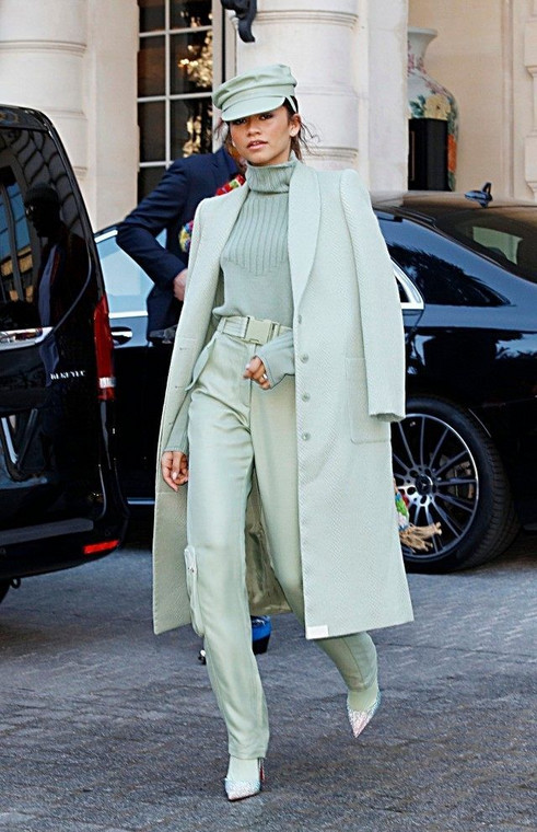 Zendaya makes a strong case for monochromatic style and here's how you can nail the look