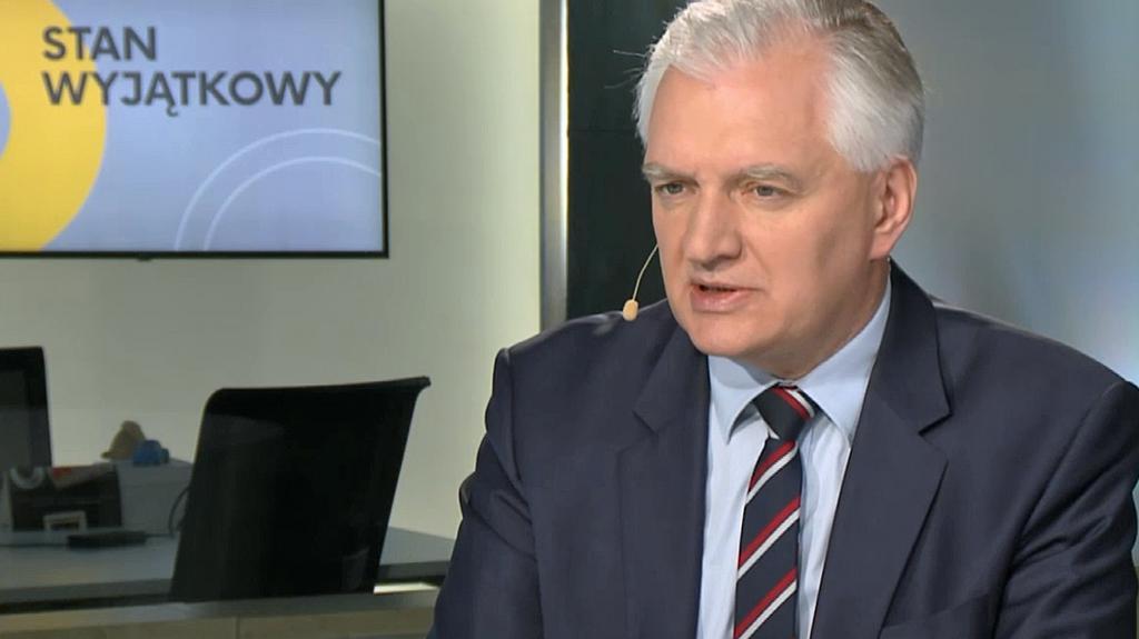 Stan wyjątkowy: Jarosław Gowin