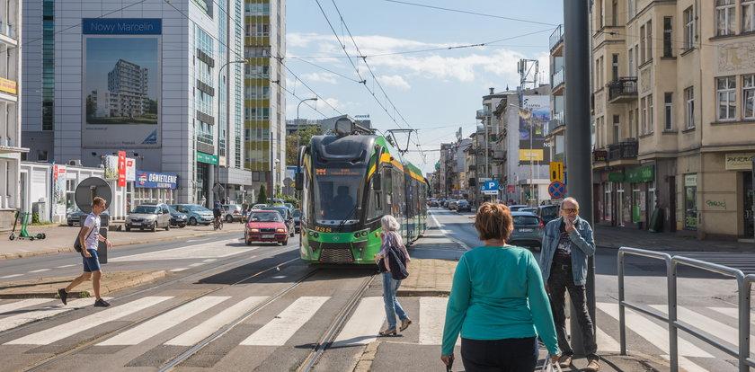 Tramwaje będą omijać ul. Dąbrowskiego