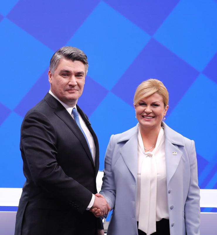 Zoran Milanović i Kolinda Grabar Kitarović