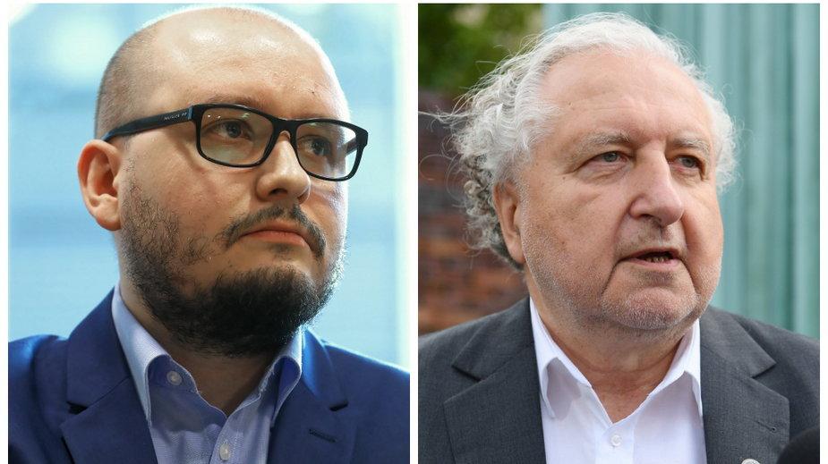 Od lewej: Patryk Wachowiec i Andrzej Rzepliński