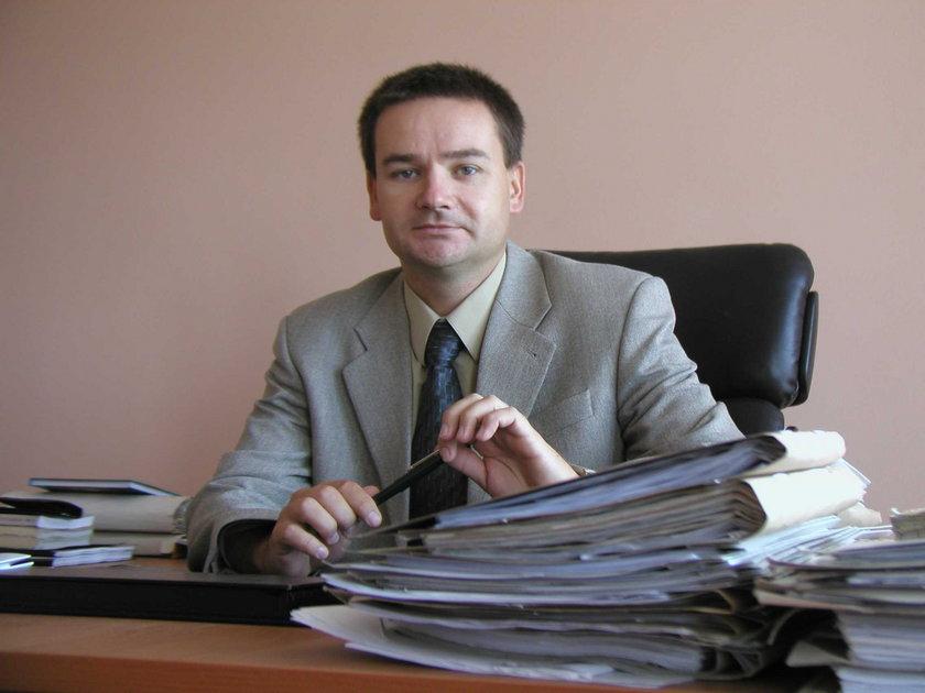 Rafał Figura, z-ca prokuratora rejonowego w Wodzisławiu Śl.