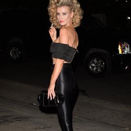 Joanna Krupa na imprezie halloweenowej. Za kogo się przebrała?