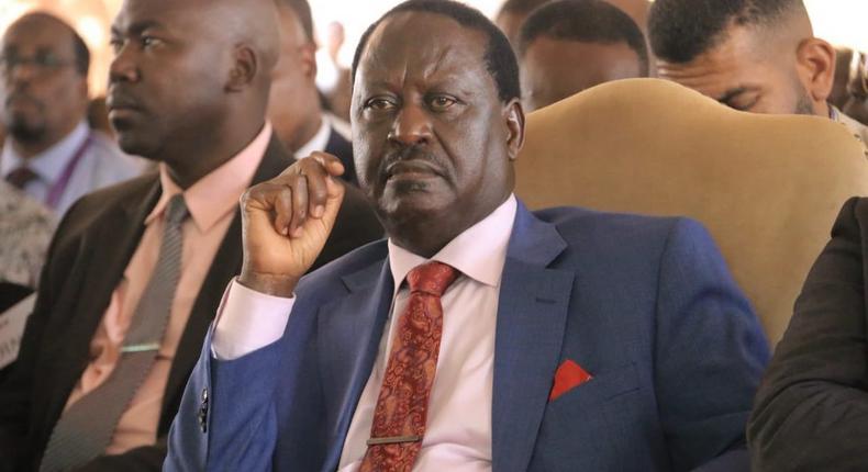 AU envoy Raila Odinga