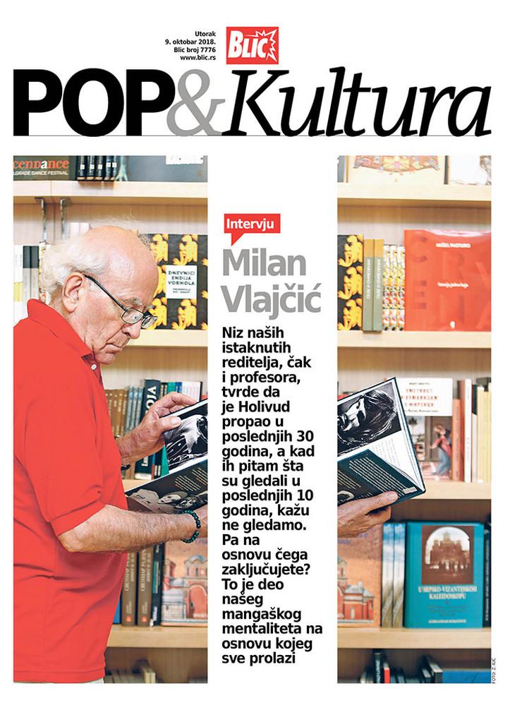 POP kultura cover Milan Vlajčić