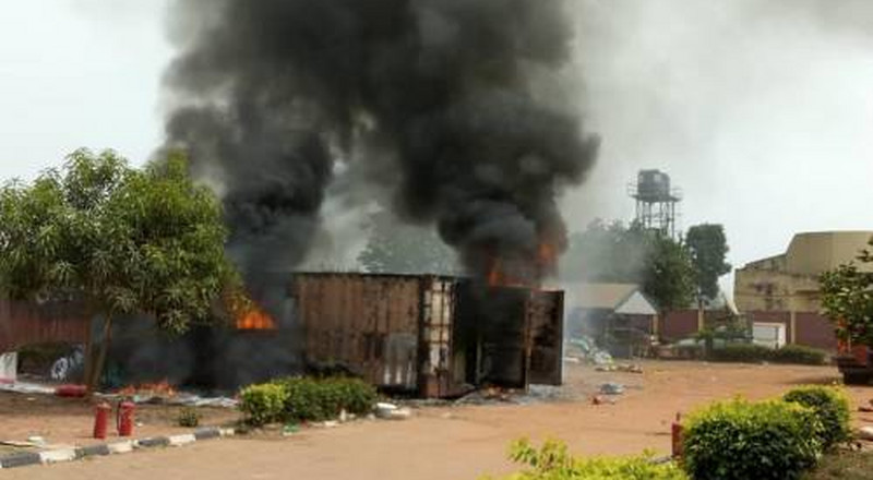 Police arrest officers over fire incident at INEC centre in Ebonyi