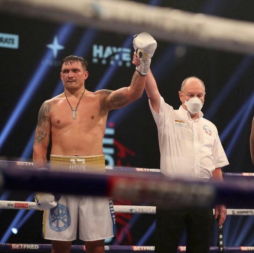 Brytyjczyk przegrał na Wembley, a rywal zyskał też prawo walki o tytuł mistrza świata (WBO) w wadze ciężkiej.