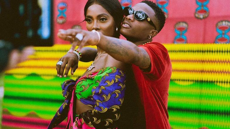 Wizkid and Tiwa Savage used a lot of 'stew' to get people talking in 2018 [Instagram/TiwaSavage]