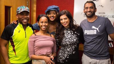 Amina Abdi Rabar and Fareed Khimani host 1st Radio Marathon in Africa
