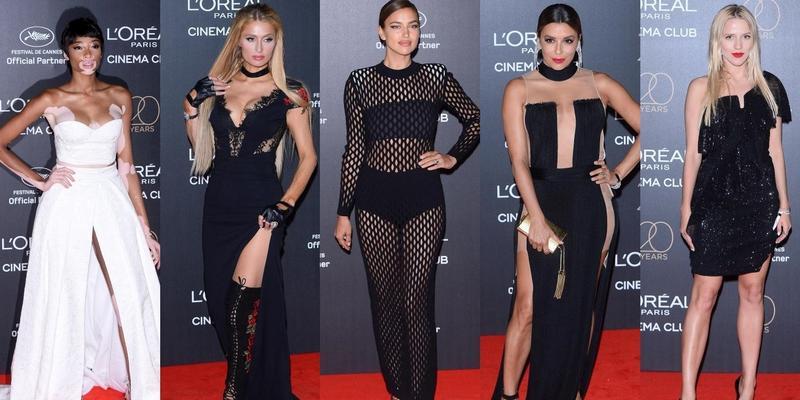 Shayk, Longoria, Hilton, Kroes, Harlow i Mercedes na imprezie L'Oreal