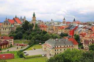 W centrum Lublina zawaliła się część kamienicy