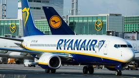 Ryanair odwołał kilkadziesiąt rejsów